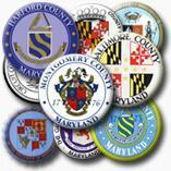 There are 24 circuit courts in Maryland, corresponding with each county and Baltimore City